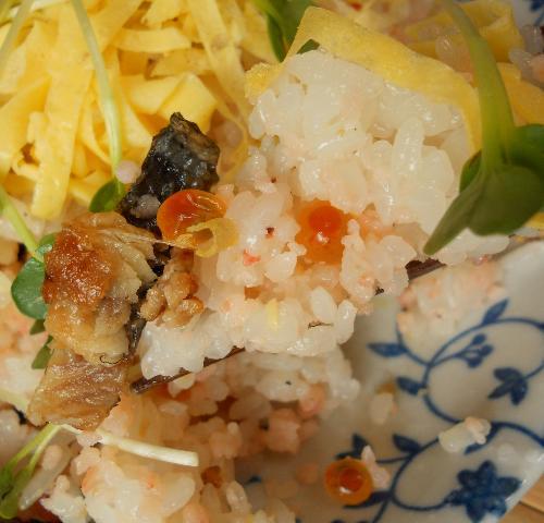 エビちらし寿司14