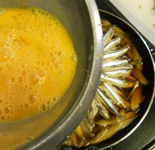 きびなごの柳川鍋11