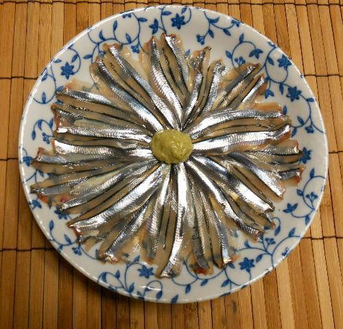 きびなごの柳川鍋16