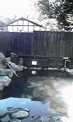 川根温泉露天風呂