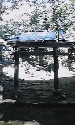 川根八幡神社鳥居