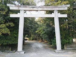 阿波神社鳥居