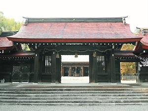阿波神社神門