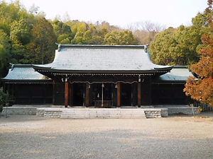 阿波神社本殿
