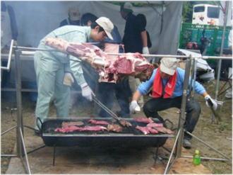お肉~~~!!