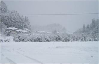 2009年大晦日の朝