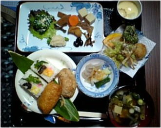 500円の食事。