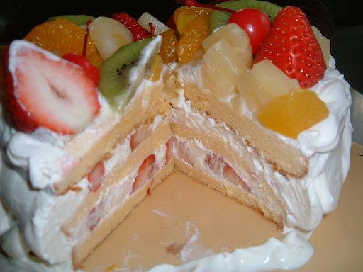 フルーツケーキ3