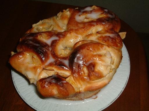 りんごパン1