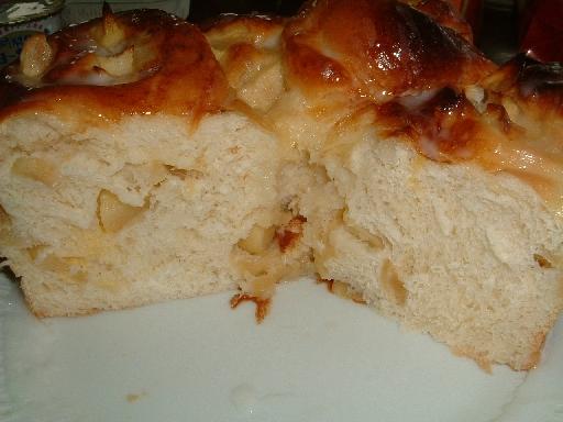 りんごパン4