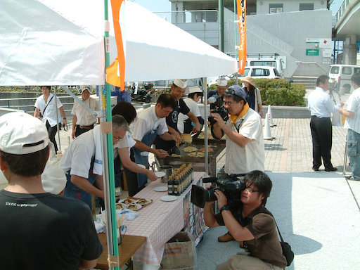 尾道焼き試食会04