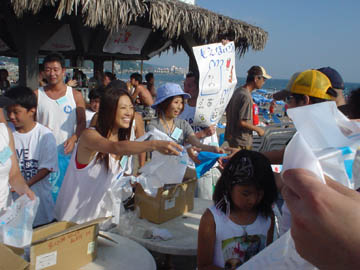 keep the beach clean kamakura yuigahama !!