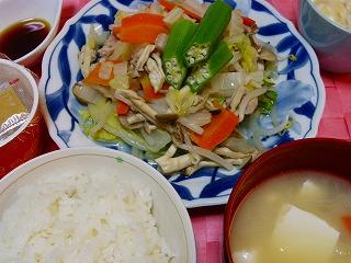 蒸し豚野菜
