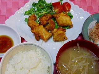 鶏の天ぷら