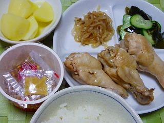鶏の甘すっぱ煮