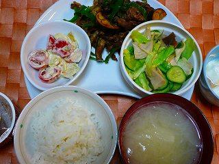 牛肉と野菜の味噌炒め