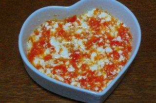 にんじん豆腐