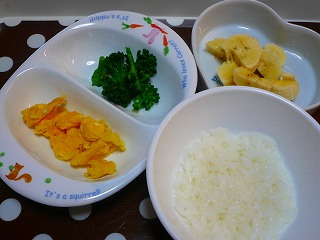離乳食(朝)