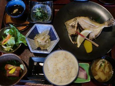 焼き魚膳ss
