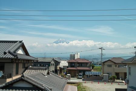 6月17日の富士山