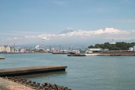 6月17日灯台からの富士山