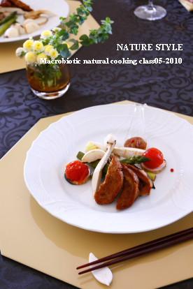 グルテンのスペアリブ グリル&スチーム野菜