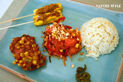 タイ料理プレート1
