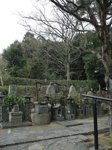 吉田松陰の墓09.1.25