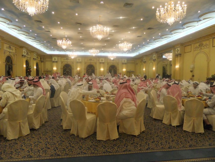 サウジアラビアの宴会