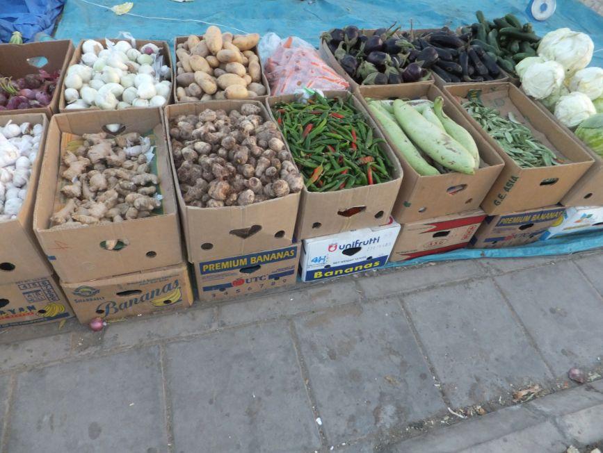 サウジの野菜