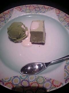 ステーキコース アイス
