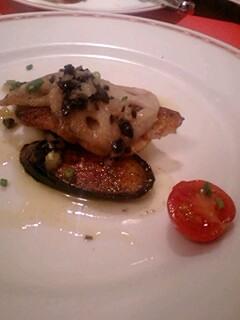 サンマルク白身魚料理