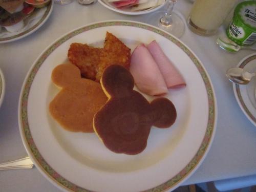 アンバ朝食②