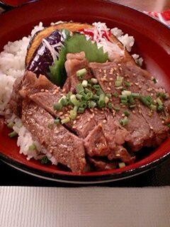 ステーキ丼②