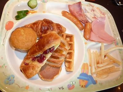 ヒルトン子供用朝食