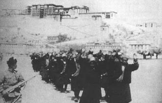 1959被俘#33719;的西藏叛乱分子