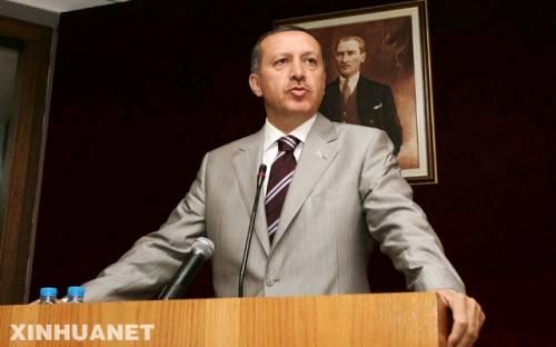 土耳其政府總理埃爾多安