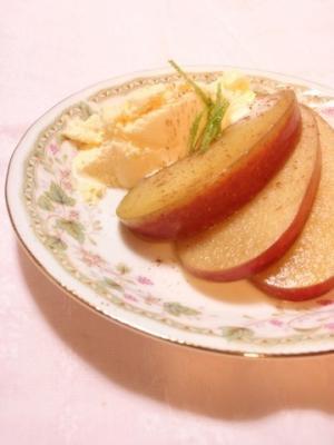 リンゴの紅茶コンポート