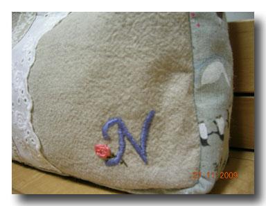 刺繍と・・・