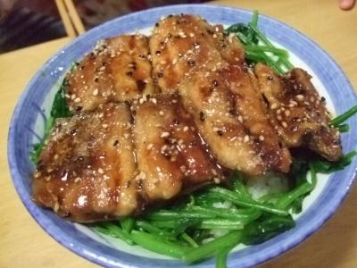 s-秋刀魚の蒲焼丼