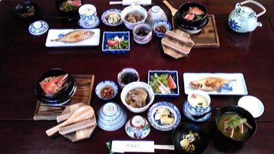 カニ旅行(朝食)