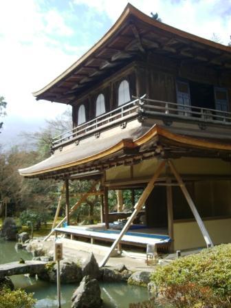 銀閣寺 修復中