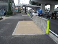 22号 伝法寺歩道橋工事