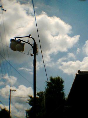 シュルレアリスティックな街灯