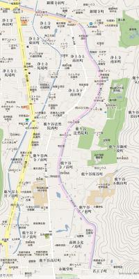 哲学の道 地図