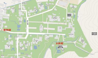 南禅寺マップ