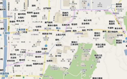 祇園から岡崎、インクラインへ
