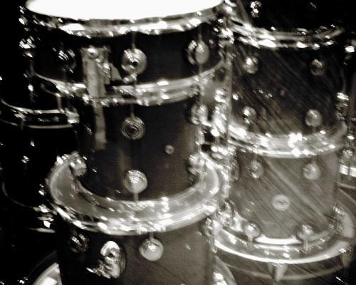 輝くドラム