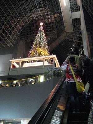 京都駅のクリスマス1