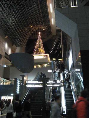 京都駅のクリスマス4